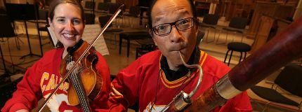 Adriana Lebedovich Michael Hope Calgary Philharmonic Orchestra Flames