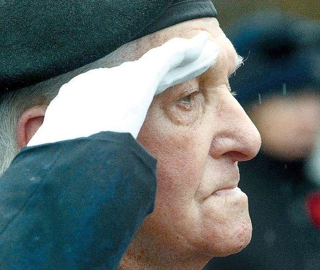 Second World War veteran Art Boon. (File Photo)