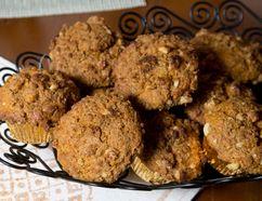 Sweet potato and maple muffins by Jill Wilcox in London, Ontario on Monday, April 6, 2015. (DEREK RUTTAN/ The London Free Press /QMI AGENCY)