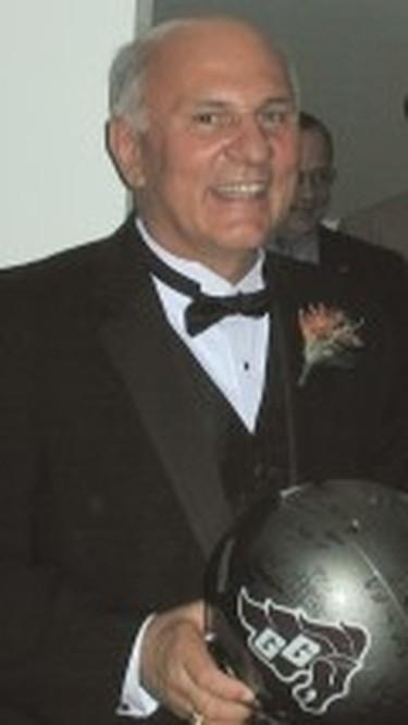 1975 Gee-Gees coach Don Gilbert.