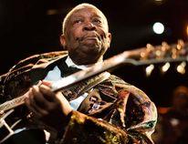 Legendary blues guitarist B.B. King. REUTERS/Valentin Flauraud/Files