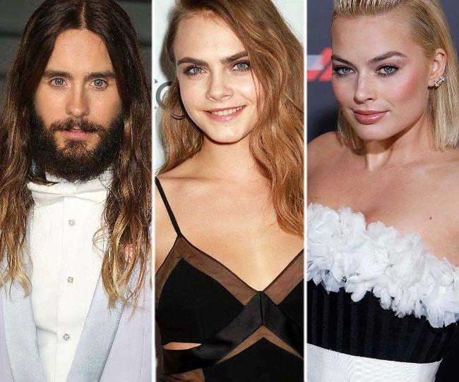 """Jard Leto, Cara Delevingne and Margot Robbie (<A HREF=""""http://www.wenn.com"""" TARGET=""""newwindow"""">WENN.COM</a>)"""