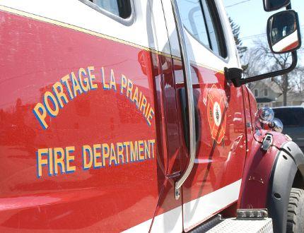 Portage la Prairie Emergency Services fire truck. (File Photo)