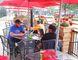 Gino Donato/The Sudbury Star  Customers enjoy some food and drinks at the Peddlers Pub patio on Cedar Street last summer.