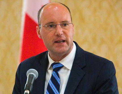 London mayor Matt Brown. (File photo)