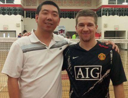 Winning the tournament was Tao Wang and Fred Neufeld.
