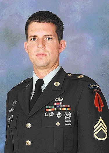 U.S. Army medic Sgt. Christopher Speer. Department of Defence/Handout/Postmedia Network