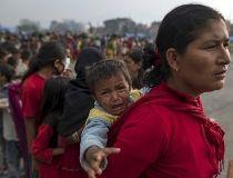 Nepal quake victims