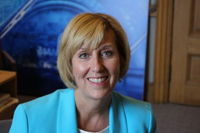Ontario Progressive Conservative MPP Laurie Scott at Queen's Park Thursday, May 14, 2015. (Antonella Artuso/Toronto Sun)