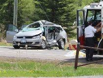 Limebank at Mitch Owens serious crash