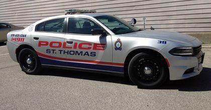 St. Thomas Police new cruisers