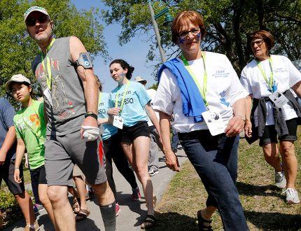 The Telus Walk to Cure Diabetes walk kicks off on Sunday May 24. Emily Mountney-Lessard/Belleville Intelligencer/Postmedia Network