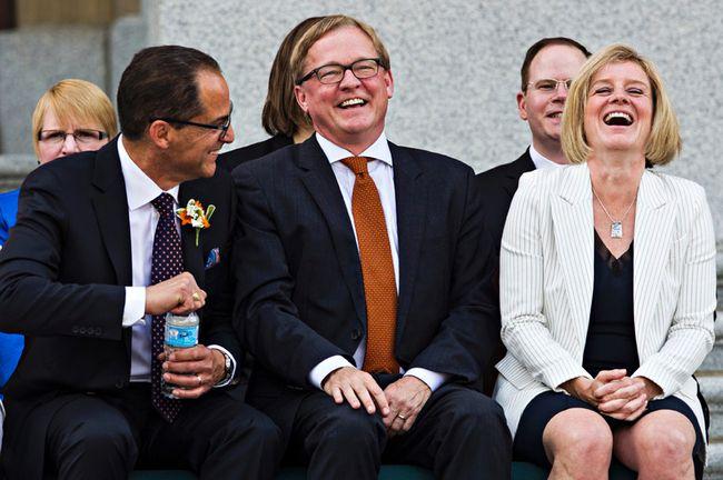 Premier Rachel Notley swearing-in ceremony