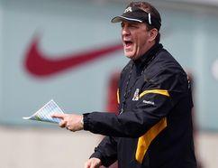 Hamilton Tiger-Cats head coach Kent Austin. (Craig Robertson/Toronto Sun)