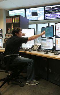 Ron Loefler senior operation technician Shepard Energy Centre