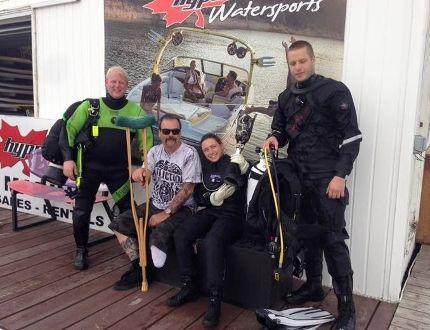 Scott Taylor Joe Davis Sabrina Matt Wyse artificial leg recovery Chestermere Lake