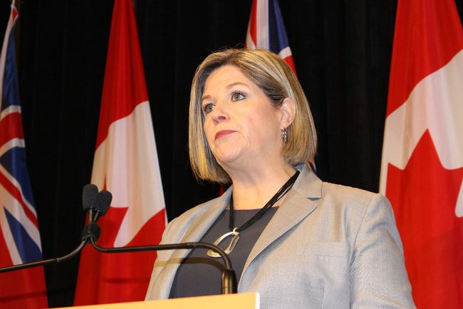 NDP Leader Andrea Horwath. (ANTONELLA ARTUSO/Toronto Sun)