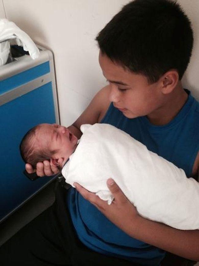 Cam Tait's grandson Nic