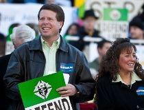 Jim Bob Duggar and  Michelle Duggar 7