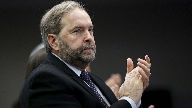 Federal NDP Leader Thomas Mulcair.     REUTERS/Blair Gable