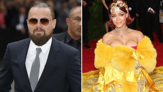 """Leonardo DiCaprio and Rihanna. (<a href=""""http://www.wenn.com"""" target=""""_blank"""">WENN.com</a>)"""