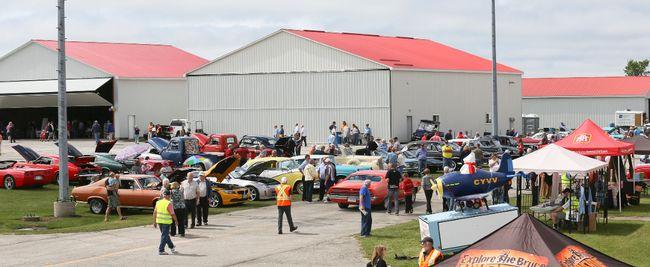 Owen Sound Airport Car Show