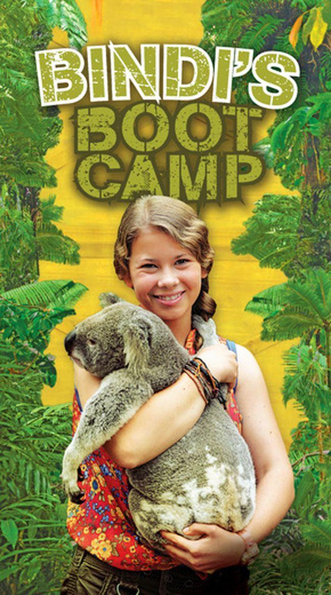 """Bindi Irwin in """"Bindi's Bootcamp."""""""