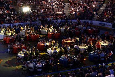 Thousands of fans the Edmonton Oiler Draft Party at Rexall Place in Edmonton, Alberta Friday, June 26, 2015.Perry Mah/Edmonton Sun/Postmedia Network