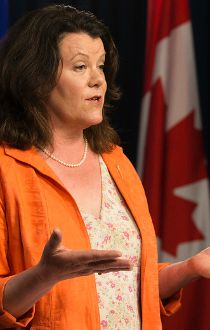 Jobs, Skills, Training and Labour Minister Lori Sigurdson