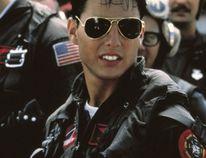 Tom Cruise in Top Gun (files)