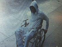 Wheelchair bank robber