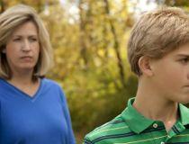 Teenage son