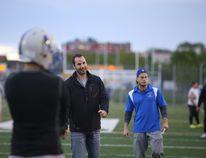Sudbury Gladiators head coach Aaron Rehel in this file photo. Gino Donato/Sudbury Star/Postmedia Network