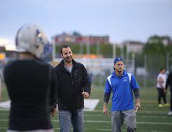 Sudbury Gladiators head coach Aaron Rehel. Gino Donato/Sudbury Star/Postmedia Network