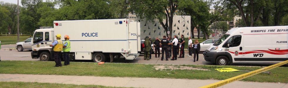 Winnipeg bomb