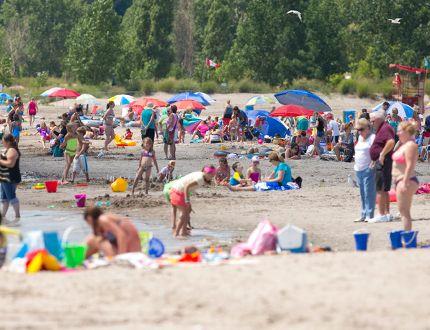 Port Stanley beach (Free Press file photo)
