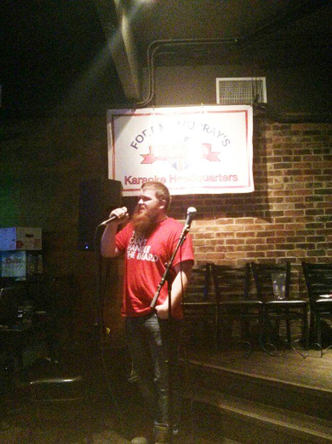 Daniel Harris hosts karaoke night at Bailey's Pub. ANDREW BATES/TODAY FILE PHOO