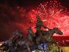 Stampede fireworks 2015