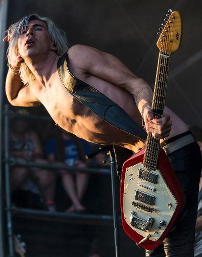 Marianas Trench frontman Josh Ramsay performing on the Claridge Stage at Bluesfest in Ottawa, Ont. on Friday July 10, 2015. Errol McGihon/Ottawa Sun/Postmedia Network