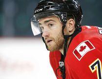 Calgary Flames defenceman T.J. Brodie of Dresden. (AL CHAREST/Postmedia Network)