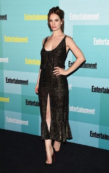 "Lily James in a semi-sheer Altuzarra dress. (Jason Merritt/Getty Images for Entertainment Weekly/AFP)  PDRTJS_settings_8184901 = { ""id"" : ""8184901"", ""unique_id"" : ""default"", ""title"" : """", ""permalink"" : """" }; (function(d,c,j){if(!document.getElementById(j)){var pd=d.createElement(c),s;pd.id=j;pd.src=('https:'==document.location.protocol)?'https://polldaddy.com/js/rating/rating.js':'http://i0.poll.fm/js/rating/rating.js';s=document.getElementsByTagName(c)[0];s.parentNode.insertBefore(pd,s);}}(document,'script','pd-rating-js'));"