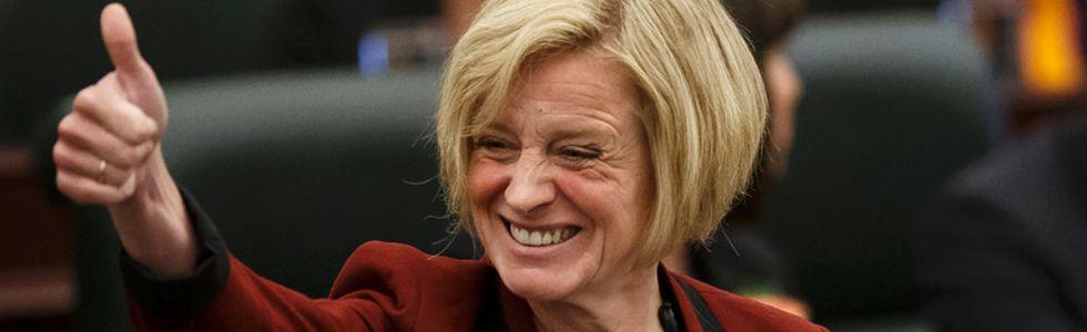 Premier Rachel Notley