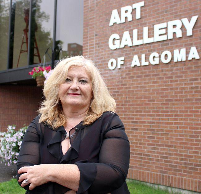 Jasmina Jovanovic, director of Art Gallery of Algoma. (Sault Star File Photo)