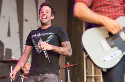 Pierre Bouvier of Simple Plan performs on the Claridge Homes Stage at Bluesfest in Ottawa on Saturday, July 18, 2015. Matthew Usherwood/Ottawa Sun/Postmedia Network