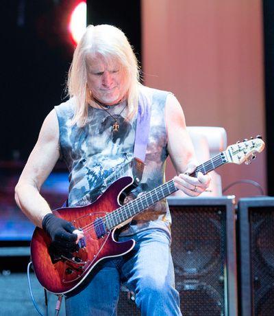 Steve Morse of Deep Purple performs on the Bell Stage at Bluesfest in Ottawa on Saturday, July 18, 2015. Matthew Usherwood/Ottawa Sun/Postmedia Network