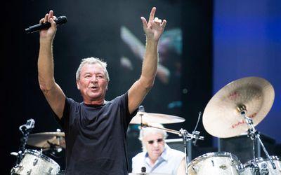 Ian Gillan of Deep Purple performs on the Bell Stage at Bluesfest in Ottawa on Saturday, July 18, 2015. Matthew Usherwood/Ottawa Sun/Postmedia Network