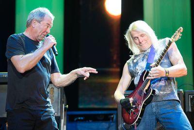 Ian Gillan (left) and Steve Morse (right) of Deep Purple perform on the Bell Stage at Bluesfest in Ottawa on Saturday, July 18, 2015. Matthew Usherwood/Ottawa Sun/Postmedia Network