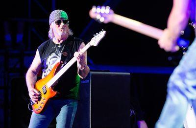 Roger Glover of Deep Purple performs on the Bell Stage at Bluesfest in Ottawa on Saturday, July 18, 2015. Matthew Usherwood/Ottawa Sun/Postmedia Network