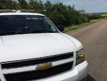 Body found in burning car