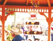 Craigmyle celebrated 100 years over the weekend of July 17 to 19. The community worked hard to mkae the celebration a success. Photo by Jaline Pankratz JALINE PANKRATZ/HANNA HERALD/POST MEDIA